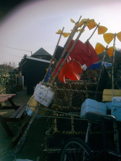 Crab pots etc. Overstrand