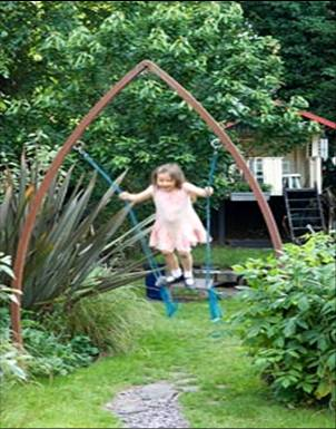 Play equipment can be made to look attractive as well as practical