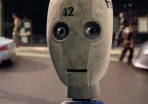 Le premier robot dans IRobot porte le numéro 42