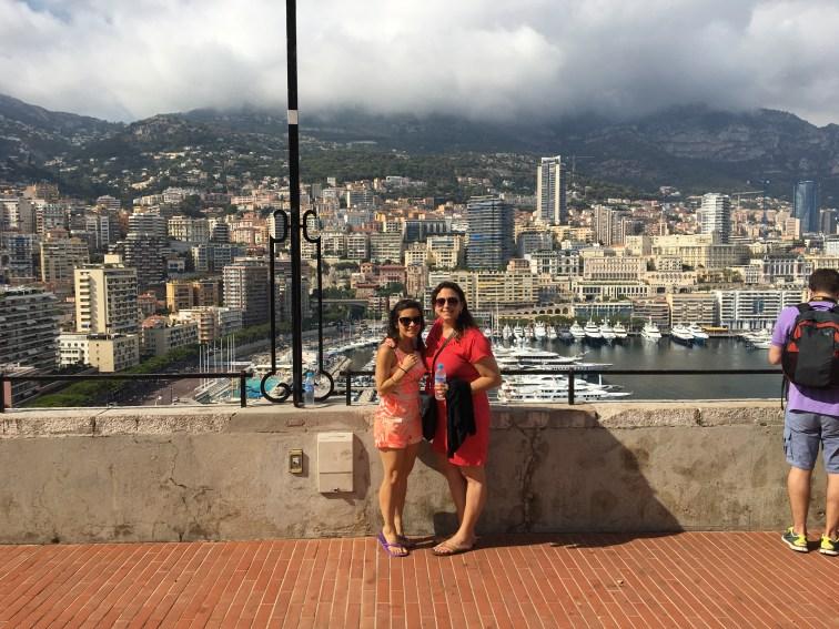 Sara and I in Monaco