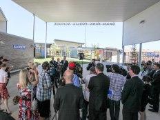 Press at Opening - Oran Park Public School