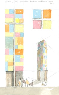 Conceptual Sketch of Tower