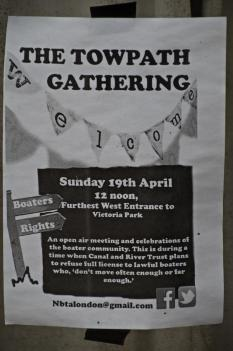 Towpath Gathering Poster
