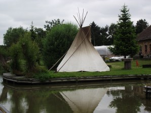 Teepee at Clatercote