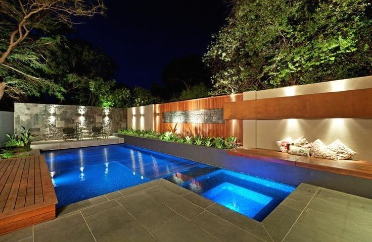 44 Small Backyard Landscape Designs to Make Yours Perfect ... on Backyard Pool Landscape Designs id=58072