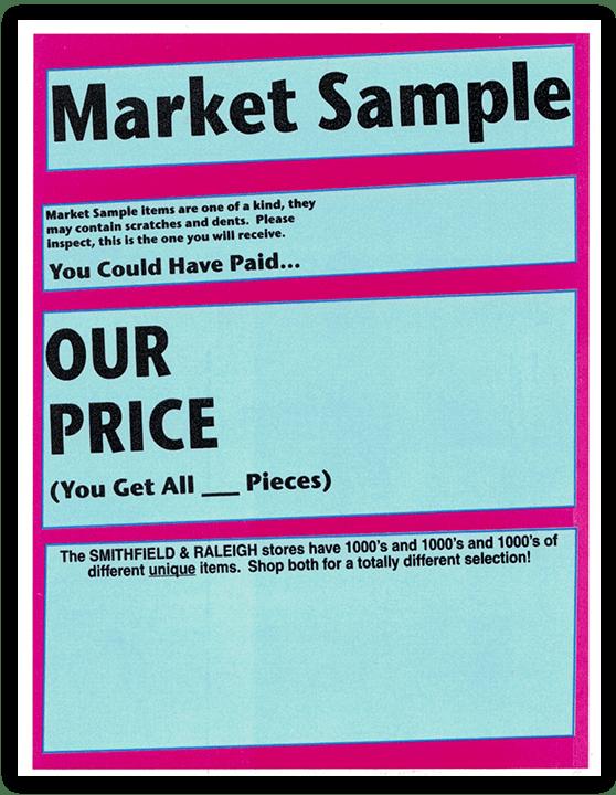 Market Sample Heavner Furniture Market