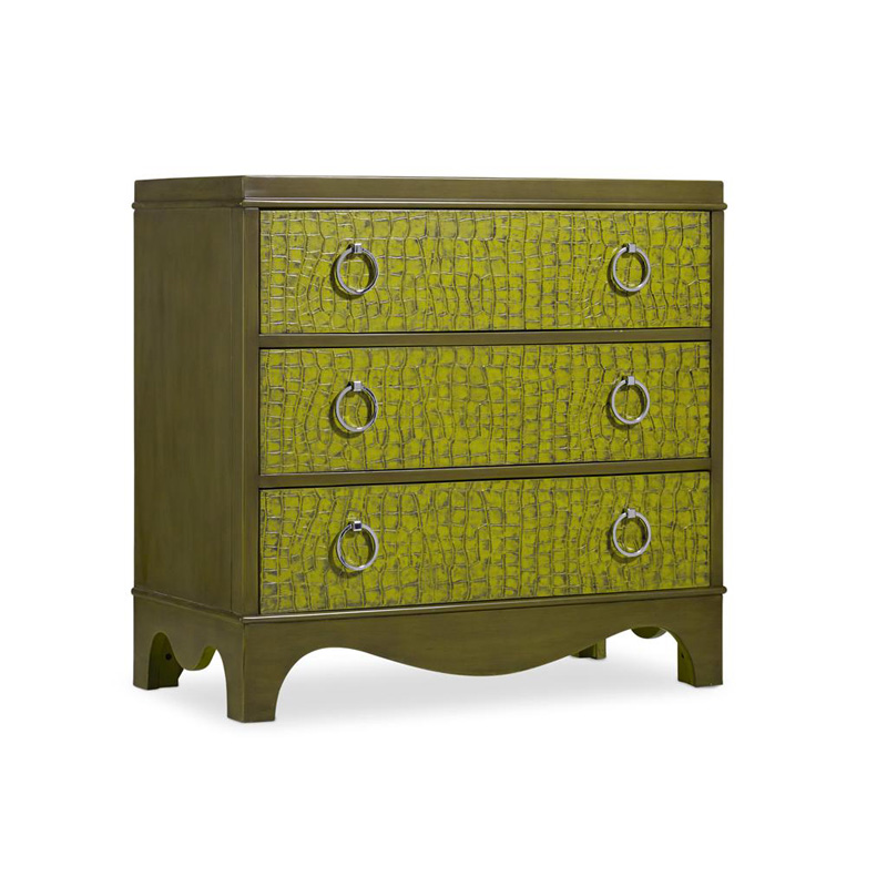 Green Semblance Chest Heavner Furniture Market