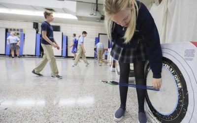 Faith Oakley: One Arm Archery Girl