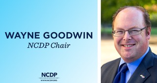 Wayne Goodwin, Chair, NCDP is coming to Hickory on March 19