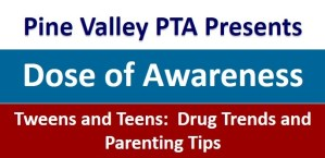 Tweens and Teens:  Drug Trends and Parenting Tips @ Pine Valley Middle School | San Ramon | California | United States