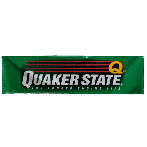 Quaker State Racing Banner