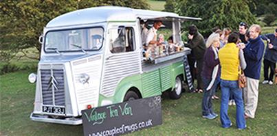 Motorised Food Van