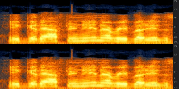 Waveform analysis of spoken voice