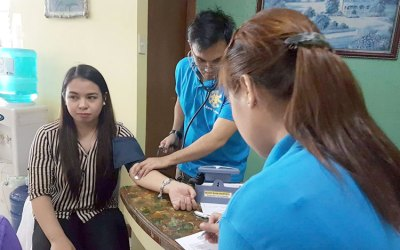 Blood Donation: Sagip Buhay Held in NCBA Cubao