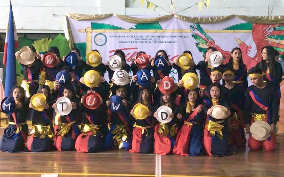 Junior High School Celebrates Buwan ng Wika   National