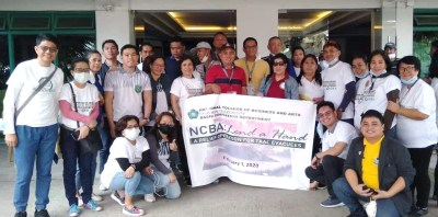 #BangonBatangas - NCBA Relief Goods Operation