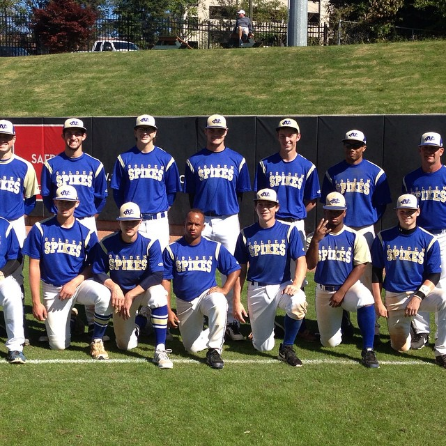 2015 Golden Spikes Team photo at N C State todayhellip