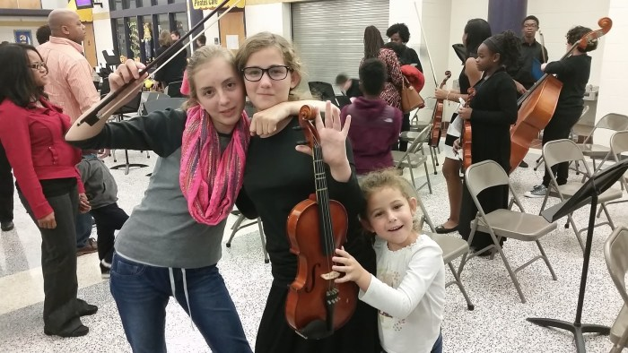 John Griffin Middle School orchestra