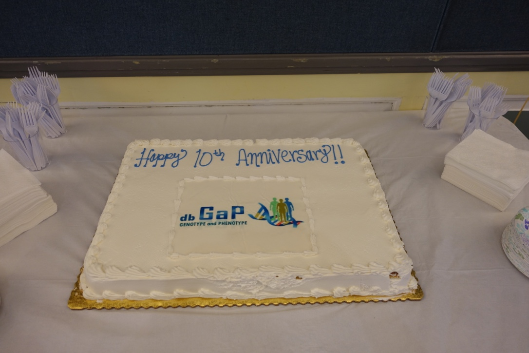 Cake, Poetry and Success Stories: NCBI Celebrates 10 Years of dbGaP
