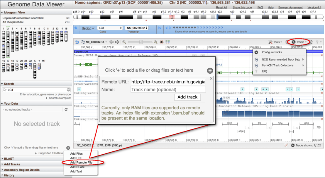 GDV add data widget