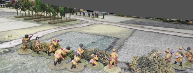 View from the Russian right flank.