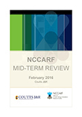 NCCARF Mid-Term Review, February 2016