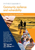 Synthesis Summary 5: Community  resilience and vulnerability
