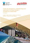 Public risk perceptions, understandings, and responses to climate change and natural disasters in Australia and Great Britain