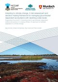 Adapting to climate change: A risk assessment and decision making framework for managing groundwater dependent ecosystems with declining water levels. Supporting document 2: Assessing risks to groundwater dependent wetland ecosystems in a drying climate