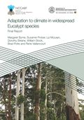 Adaptation to climate in widespread eucalypt species