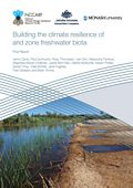 Building the climate resilience of  arid zone freshwater biota