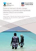Extreme heat and climate change: Adaptation in culturally and linguistically diverse (CALD) communities