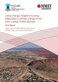 Living change: Adaptive housing responses to climate change in the town camps of Alice Springs