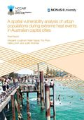 A spatial vulnerability analysis of urban populations during extreme heat events in Australian capital cities