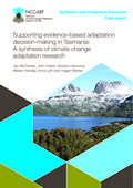 Supporting evidence-based adaptation decision-making in Tasmania: A synthesis of climate change adaptation research