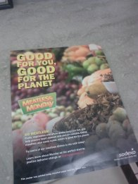 Meatless Monday flier