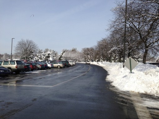Clean parking lots are a top priority when winter weather strikes
