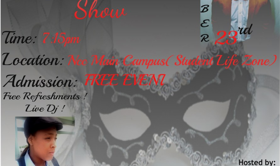 Masquerade fashion show to be held at NCC