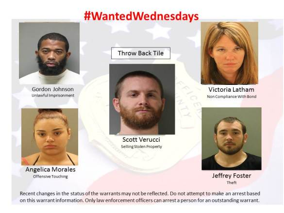 Wanted Wednesday 111517