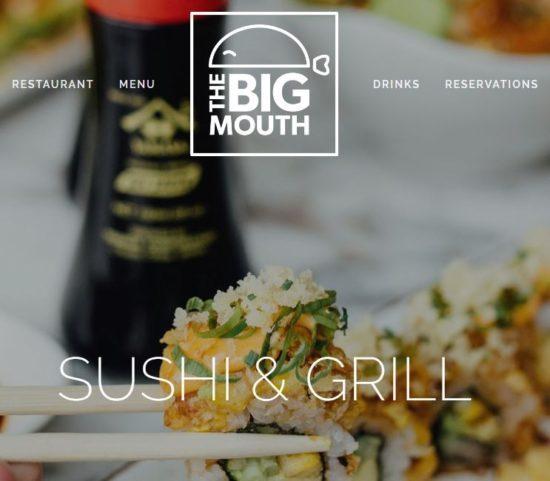 bigmouth南アフリカレストラン・ネイティブキャンプ