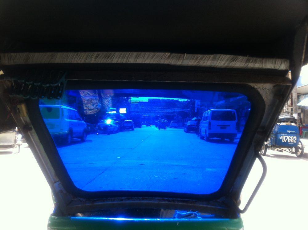 トライシクル車窓