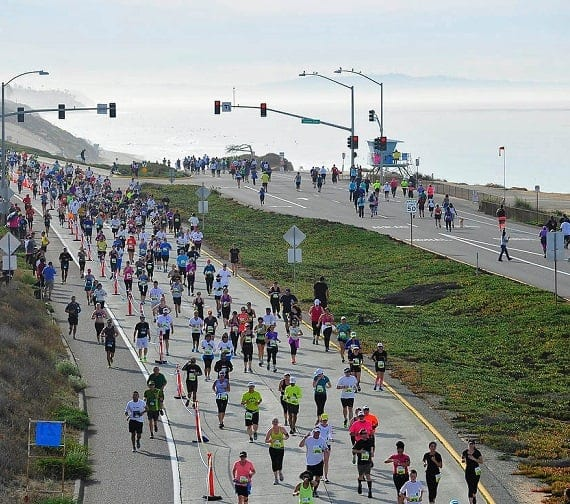 January 14, 2019 Carlsbad Calendar Tri City Marathon & Half Marathon January 20 in Carlsbad Village