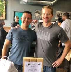 Ladera Brewing, Vista Fire Station #1, 'Zero Gravity' Brut IPA, Brewers-Jeff Gazdayka & John Goforth