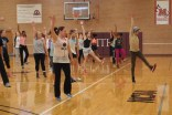 Still of Ron West and master class at Meredith College. Photo by Dance Project.