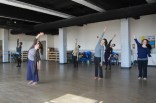 Helen Simoneau teaching at the Dance Project studio 2012. Photo by Jerry Varner