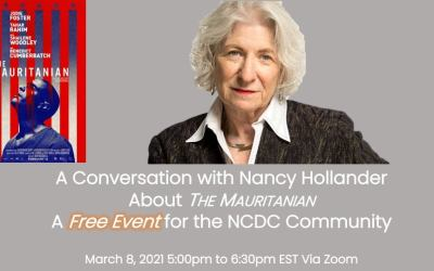 "A Conversation with Nancy Hollander About ""The Mauritanian"""