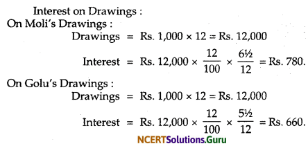 NCERT Solutions for Class 12 Accountancy Chapter 2 Accounting for Partnership Basic Concepts 51