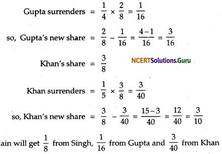 NCERT Solutions for Class 12 Accountancy Chapter 3 Reconstitution of Partnership Firm Admission of a Partner 66