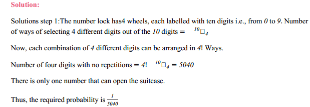 NCERT Solutions for Class 11 Maths Chapter 16 Probability Miscellaneous Exercise 14