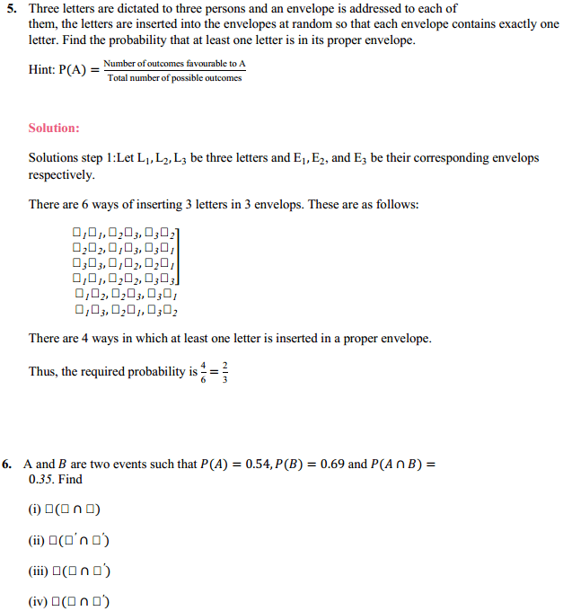 NCERT Solutions for Class 11 Maths Chapter 16 Probability Miscellaneous Exercise 7